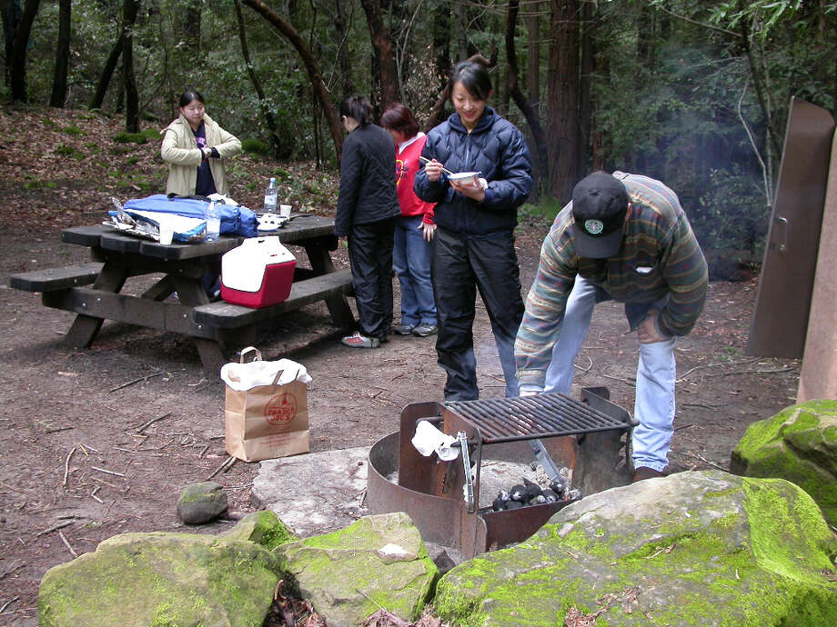 Spring means camp life in the redwoods at Sanborn-Skyline County Park