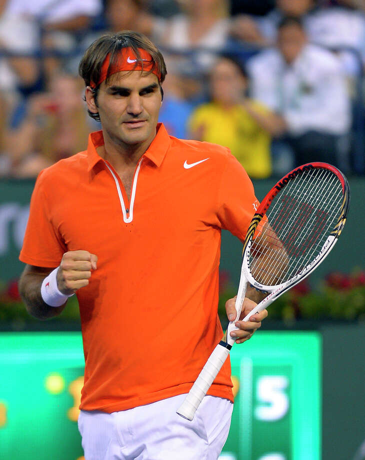 No. 2 Roger Federer