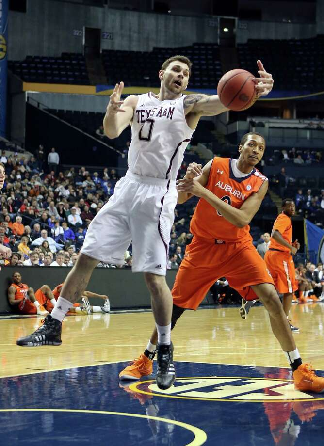 The Aggies advanced in the SEC tournament by beating Auburn, next up is the sixth-ranked Missouri Tigers. Photo: Andy Lyons, Getty Images / 2013 Getty Images