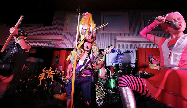 Peelander-Z, from New York, NY, performs at Hickory Street during South by Southwest Thursday March 14, 2013 in Austin, TX. Photo: Edward A. Ornelas, Edward A. Ornelas/Express-News / © 2013 San Antonio Express-News