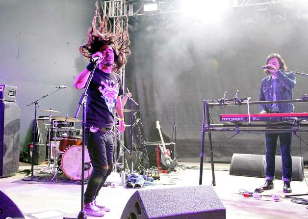 Cafe Tacvba, from Mexico City, Mexico, performs at Stubb's during South by Southwest Wednesday March 13, 2013 in Austin, TX. Photo: Edward A. Ornelas, Edward A. Ornelas/Express-News / © 2013 San Antonio Express-News