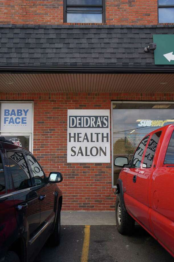 Police have busted three employees at Deidra's Health Salon, 699 Post Road, on prostitution charges. Photo: Genevieve Reilly / Fairfield Citizen