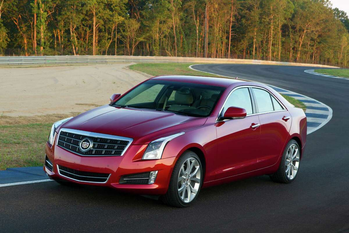 This undated image made available by General Motors shows the 2013 Cadillac ATS.
