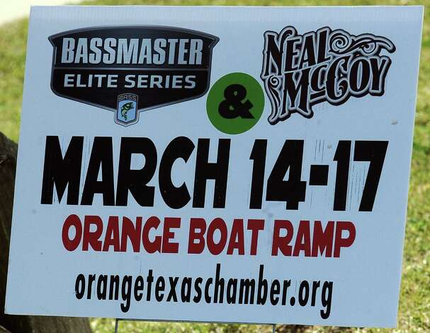 The city of Orange prepares for the B.A.S.S. Bassmasters 2013 Elite Series Sabine River Challenge which begins on Thursday, March 14, 2013 at the City of Orange Boat Dock. Photo taken: Randy Edwards/The Enterprise Photo: Randy Edwards