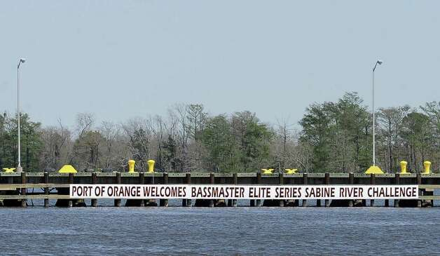 Businesses in Orange welcome anglers to the area for the B.A.S.S. Bassmasters 2013 Elite Series Sabine River Challenge which begins on Thursday, March 14, 2013 at the City of Orange Boat Dock. Photo taken: Randy Edwards/The Enterprise Photo: Randy Edwards