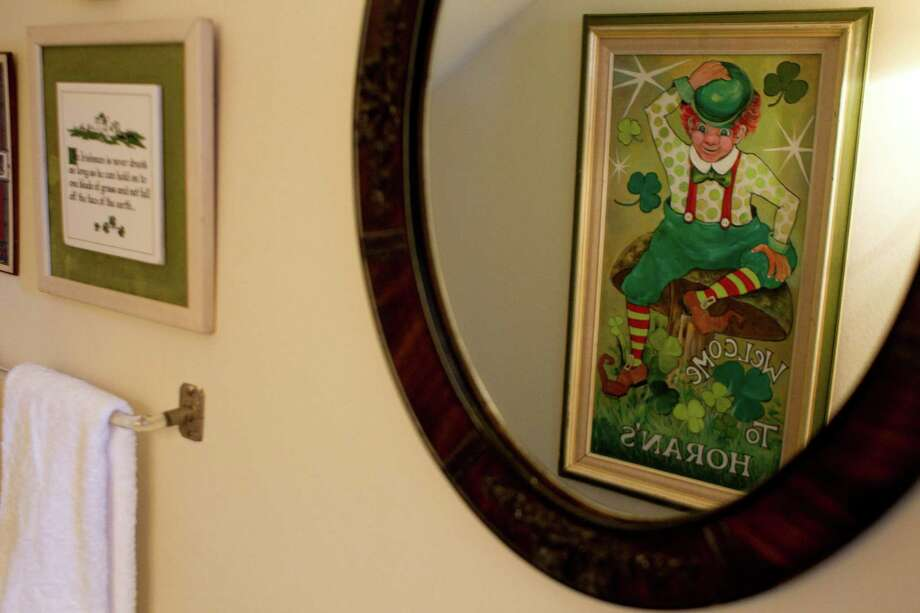 Tom Horan has Irish memorabilia all over his house.  Photo: Johnny Hanson, Houston Chronicle / © 2013  Houston Chronicle