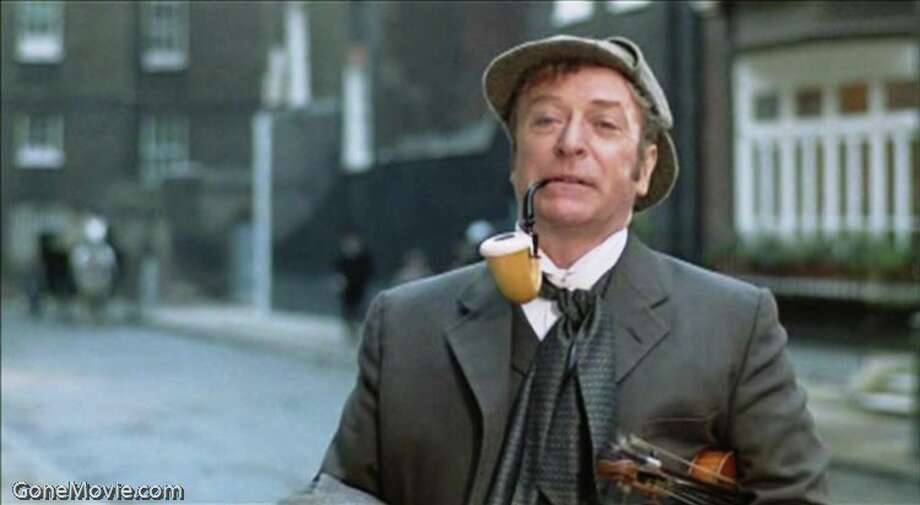 Michael Caine (Sherlock Holmes) is a destitute, womanising alcoholic, who completely fails to take any interest in detection. Photo: Gonemovie.com / GoneMovie.com