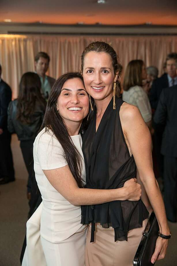 Zem Joaquin and Anna Getty at EWG's 4th annual Earth Dinner on March 13, 2013. Photo: Drew Altizer Photography, Photo : Drew Altizer