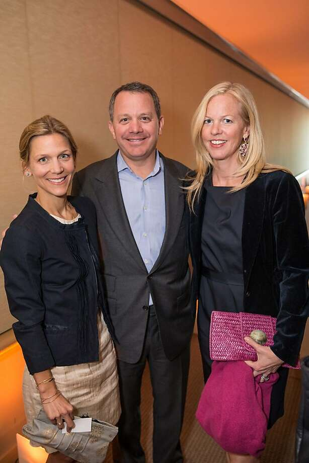 Leith Berry, Bill McGlashan and Christine Stovell at EWG's 4th annual Earth Dinner on March 13, 2013. Photo: Drew Altizer Photography, Photo : Drew Altizer