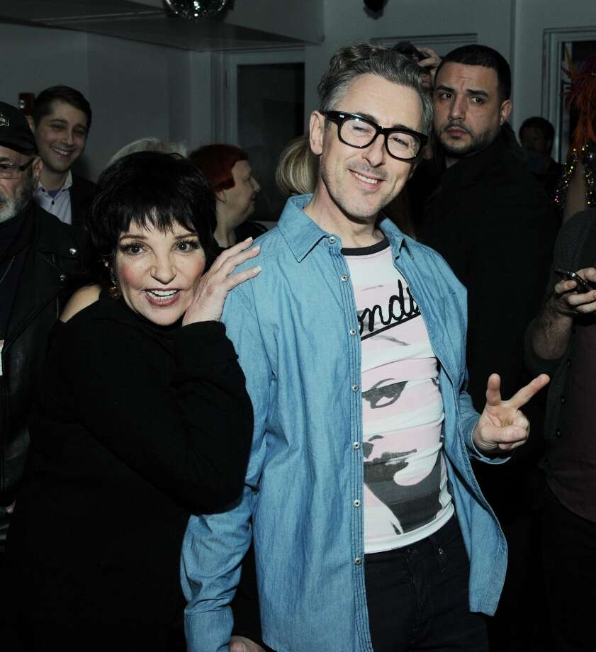 Liza Minnelli and Alan Cumming attend the Liza Minnelli Birthday Celebration at The Copa on March 13, 2013 in New York City. Photo: Ilya S. Savenok, Getty Images / 2013 Ilya S. Savenok