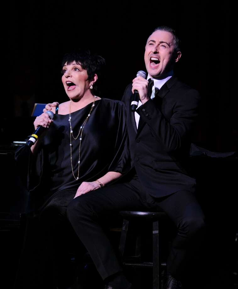 Liza Minnelli and Alan Cumming perform at Town Hall on March 13, 2013 in New York City. Photo: Ilya S. Savenok, Getty Images / 2013 Ilya S. Savenok