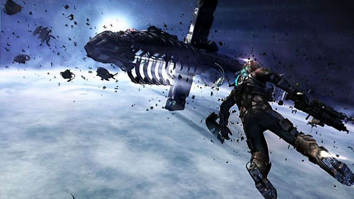 """Electronic Art's """"Dead Space 3"""". The company is planning to release 11 new major titles in the next fiscal year."""