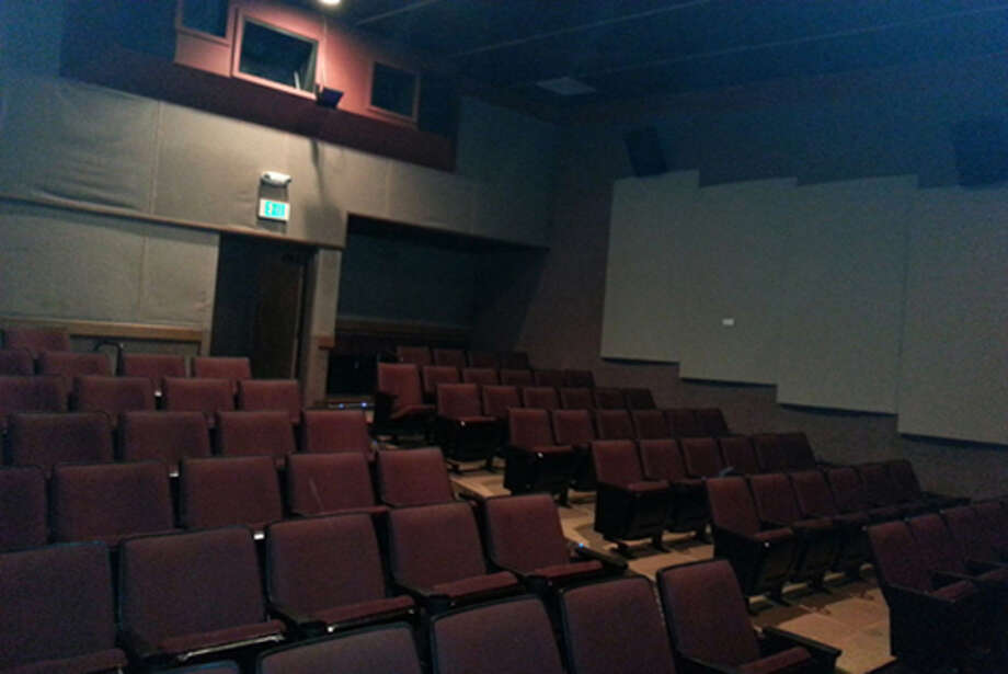 Here's the Metro's famously sagging, lumpy seats. They were built on an old ''slope floor,'' which Sundance says ''is a polite way to say you sure as heck better not get stuck sitting behind anyone taller than 5'6''. Because you won't be able to see the subtitles. Or the picture for that matter.'' Photo: Sundance Cinemas