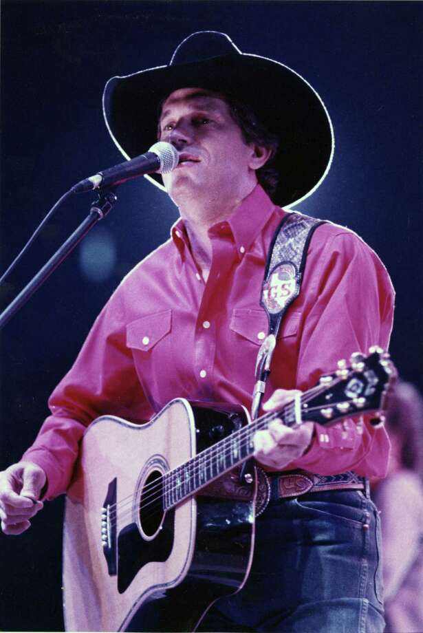 George Strait performs at the 1991 Houston Livestock Show & Rodeo in the Houston Astrodome. Photo: Steve Campbell, Houston Chronicle / Houston Chronicle