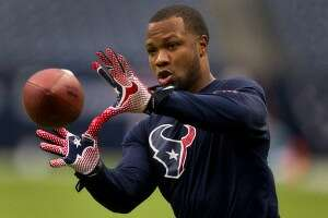 Glover Quin's Texans's days are behind him as he joined the Lions on Wednesday. (Brett Coomer/Houston Chronicle)