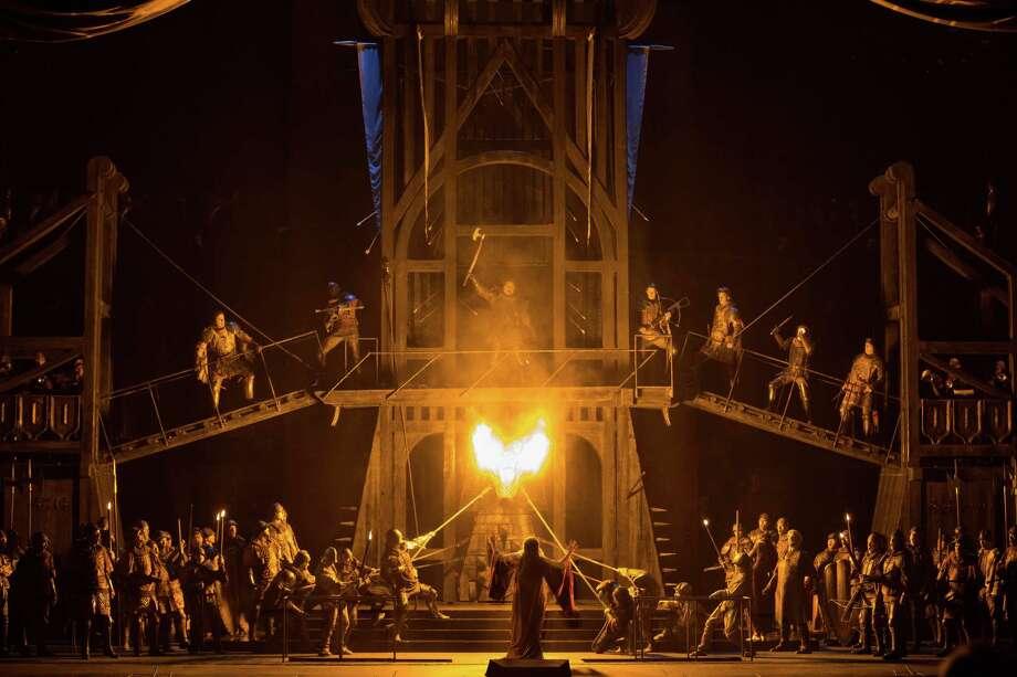 Francesca da Rimini Photo: Marty Sohl, Marty Sohl/Metropolitan Opera / Marty Sohl/Metropolitan Opera