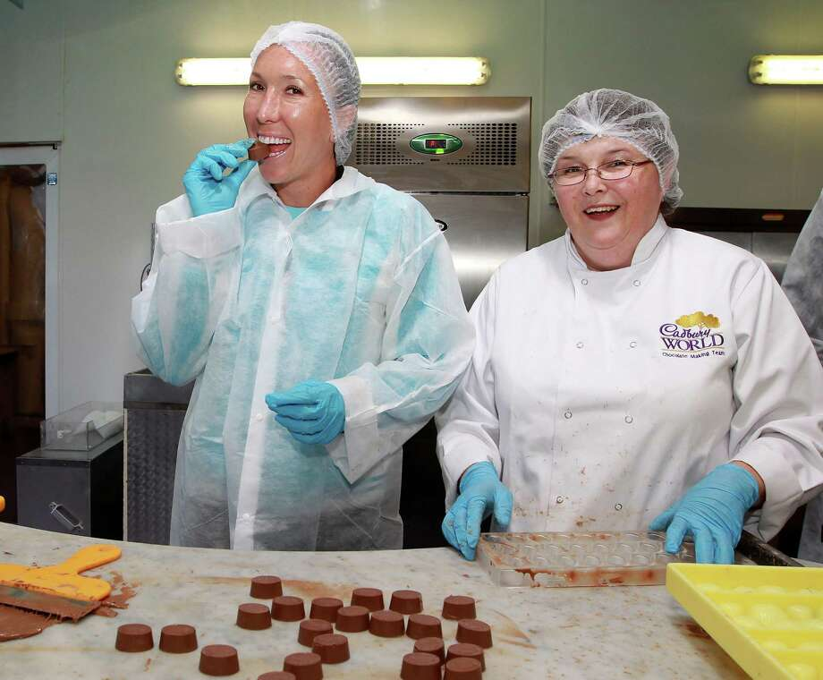 Two women pictured at Cadbury Chocolate World on June 11, 2012 in Birmingham, England. Photo: Jan Kruger, / / 2012 Getty Images