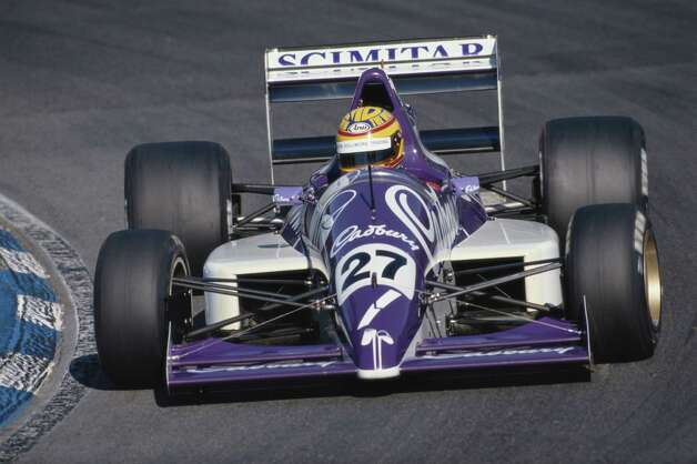 Mark Blundell drives the Cadbury's Middlebridge Racing Reynard 89DTickford Cosworth during the FIA International F3000 Championship race on Aug. 20, 1989. Photo: Darrell Ingham, / / 2011 Getty Images