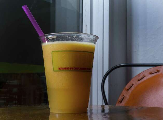 The Rico Suave smoothie was refreshing with perfectly blended flavors.