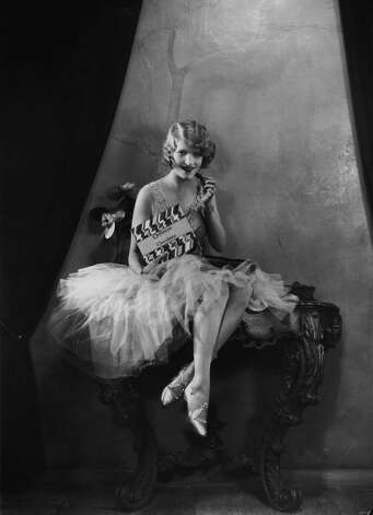 A 1928 portrait of Thalia Barbarova, holding a box of Cadbury's chocolates. Photo: Sasha, / / Hulton Archive