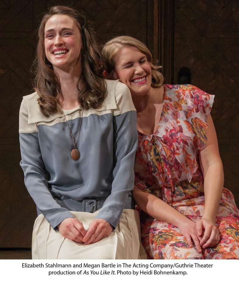 "Elizabeth Stahlmann and Megan Bartle in The Acting Company/Guthrie Theater production of ""As You Like It."" (Heidi Bohnenkamp) Photo: Heidi Bohnenkamp / © Heidi Bohnenkamp, 2012"