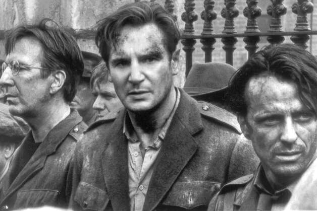 "Liam Neeson in a scene from ""Michael Collins"""