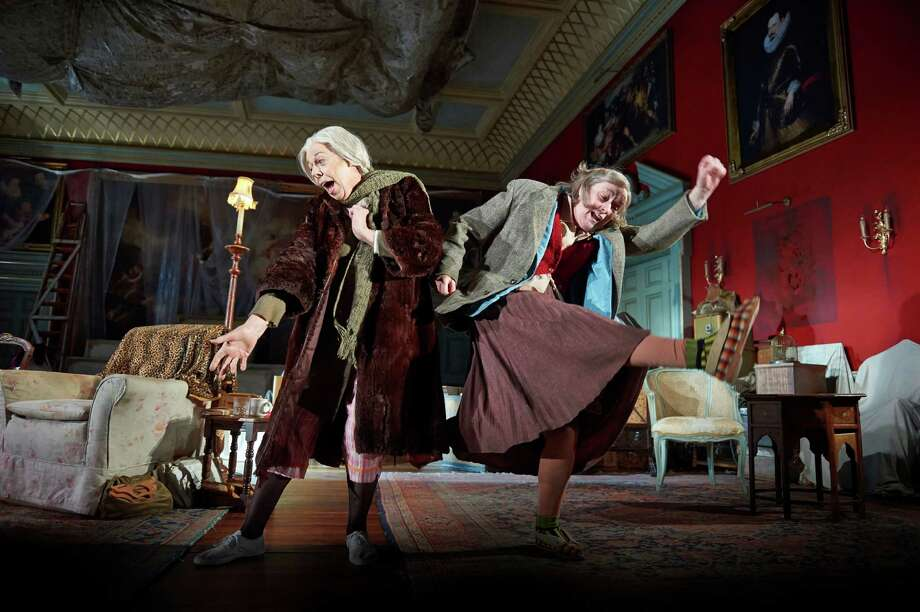 "Frances de la Tour (left) and Linda Bassett star in the London stage hit, ""People"" by Alan (""The History Boys"") Bennett, which is being telecast live from the National Theatre to the Quick Center in Fairfield on Thursday, March 21. Photo: Contributed Photo / Connecticut Post Contributed"