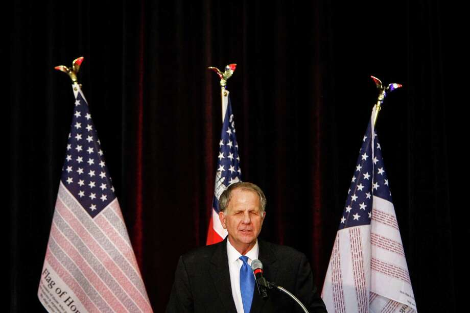 Congressman Ted Poe speaks during the Saddle Up Texas Straw Poll at Union Station at Minute Maid Park on Jan. 13, 2012, in Houston. Photo: Michael Paulsen, Houston Chronicle / © 2011 Houston Chronicle
