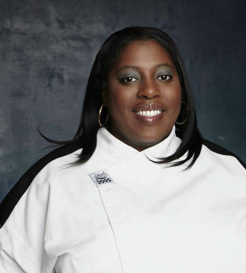 Nedra Harris is a chef at the Chart House restaurant. Photo: Fox