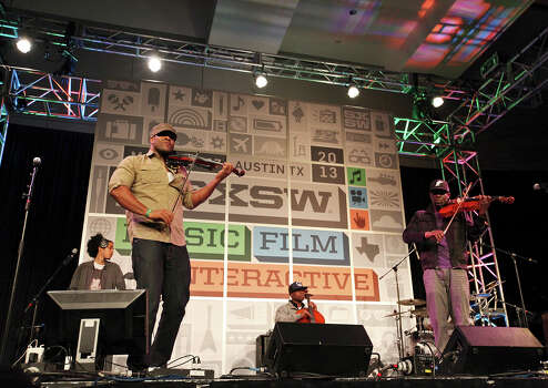 Black Violin performs at the Austin Convention Center during South by Southwest Thursday March 14, 2013 in Austin, TX. Photo: Edward A. Ornelas, San Antonio Express-News / © 2013 San Antonio Express-News