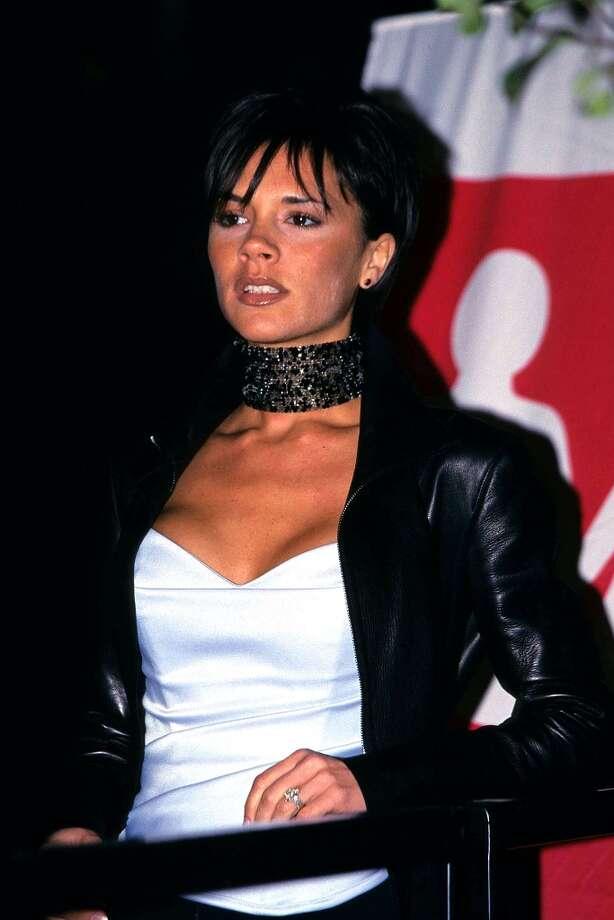 Victoria Beckham in London, November 1, 1999 Photo: Fred Duval, FilmMagic / FilmMagic