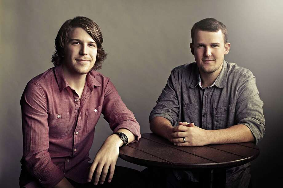 "Ryan and Josh Shook have written ""First Hand"" about their faith. They are the sons of Kerry and Chris Shook, founders of Woodlands Church. Photo: Cody Bess"