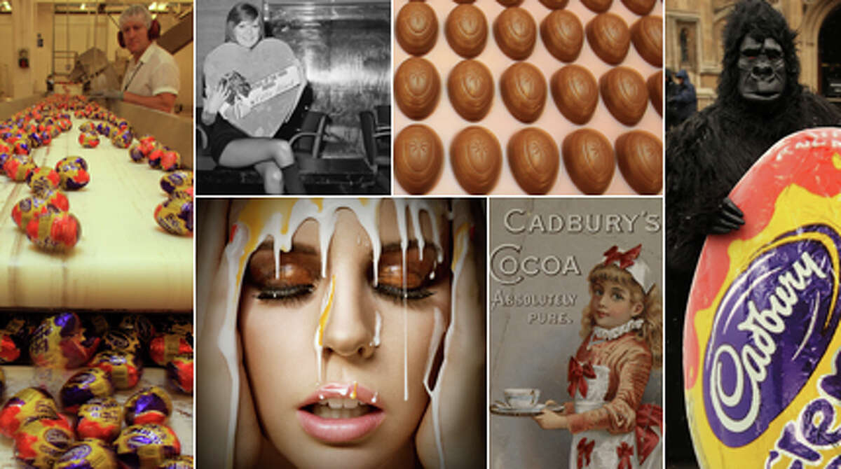 The UK's favorite candy maker doesn't get much notice here 11 months out of the year. But with Easter around the corner - and chocolate eggs fattening the nation - it's time for a look back at Cadbury.