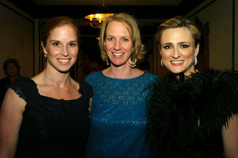 Stacy Smaistrla (from left), Sarah Anderson and Laura Nell Burton