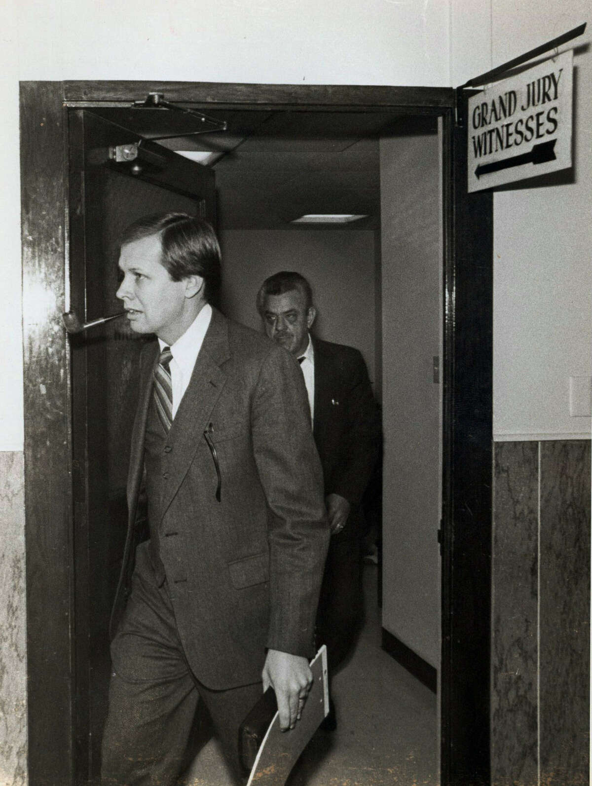 File photo of then Bexar County District Attorney Sam Millsap in the 1980s.