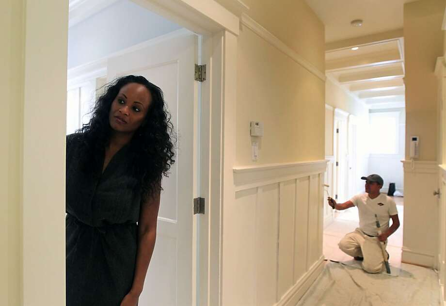 Kiesha Stephens, a listing specialist with Redfin, is preparing a two-bedroom remodeled Nob Hill condo to hit the market next week for $799,000, a good price in its neighborhood. She said that six agents have asked if they could make pre-emptive offers. Photo: Lance Iversen, The Chronicle
