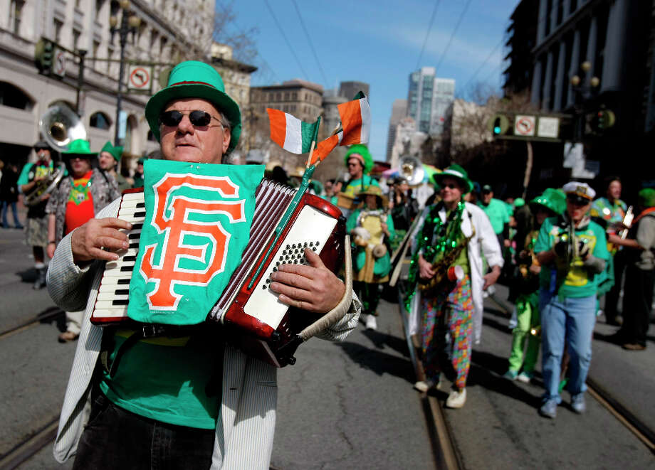 Looking for a way to celebrate St. Patrick's Day this weekend? Here are some ideas. Check out the annual St. Patrick's Day Parade in San Francisco on Saturday, March 16. The parade starts at 2nd and Market streets at 11:30 a.m.The celebration continues after outside of City Hall with a festival from 11 a.m.-5 p.m. Photo: Thomas Levinson, The Chronicle / SFC