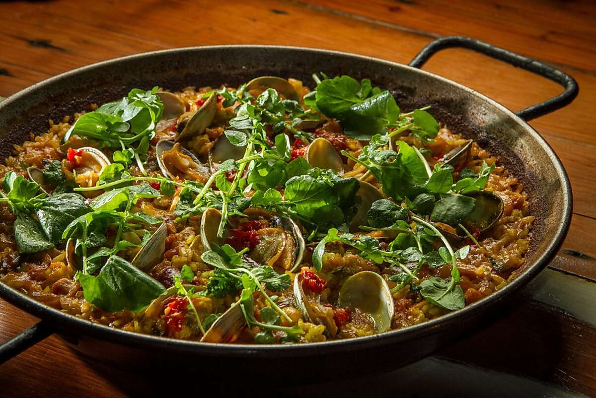 The Paella at Duende restaurant in Oakland, Calif., is seen on Thursday, March 7th, 2013.