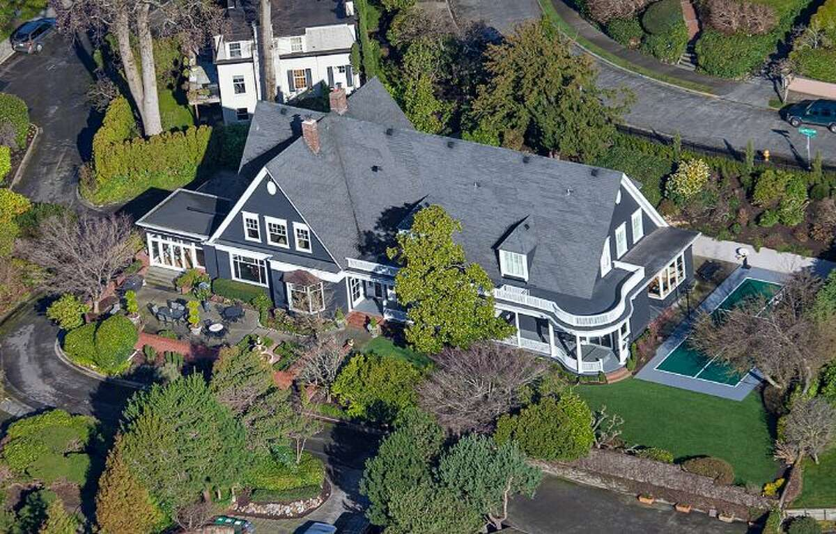 When you think of Laurelhurst opulence, it's very likely something like 3008 Webster Point Road N.E. The 7,404-square-foot mansion, built in 1910, has seven bedrooms, 4.5 bathrooms, a sunroom, a den, a game room, a media room, leaded glass, massive moldings, sport and tennis courts, a dock with a boat lift and views of Lake Washington and the Cascade Mountains on a 0.41-acre lot. It's listed for $4.75 million.
