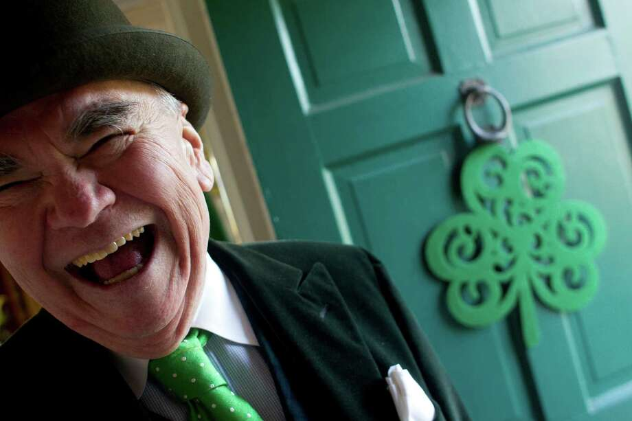 Tom Horan, 68, former restaurateur and master of public relations, is being honored as one of Houston's Irish ambassadors. Photo: Johnny Hanson, Staff / © 2013  Houston Chronicle