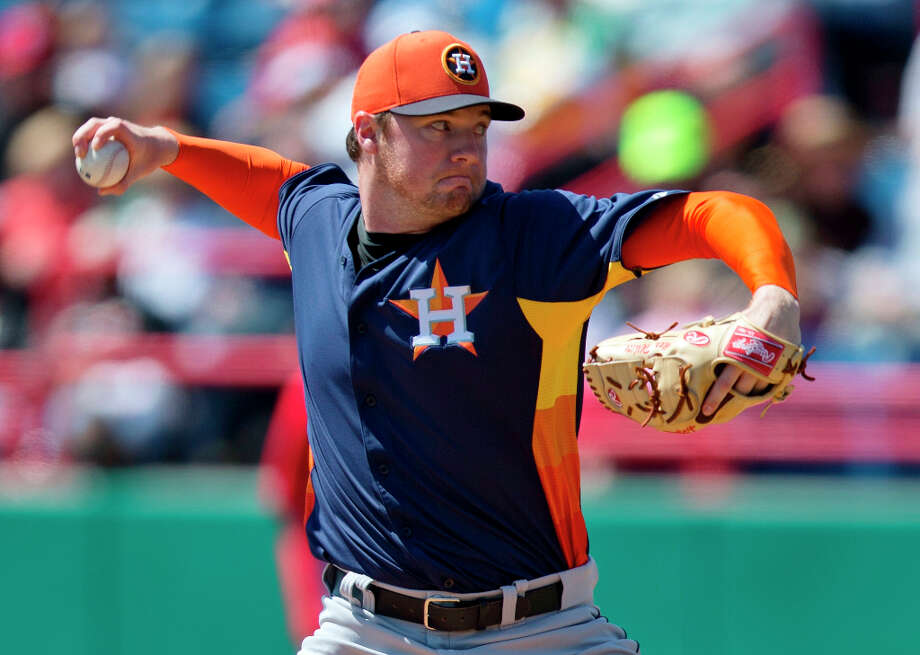 Nationals 6, Astros 3Alex White delivers a pitch during the first inning in Viera, Fla. Photo: Evan Vucci