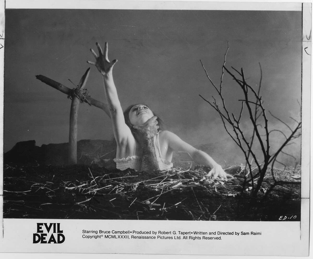 """Grindhouse Releasing, a horror movie distribution company, will bringing the 1981 horror classic """"The Evil Dead"""" on tour to drive-in screen across America. It will make its Connecticut tour stop at the Mansfield Drive-in Theatre & Marketplace."""