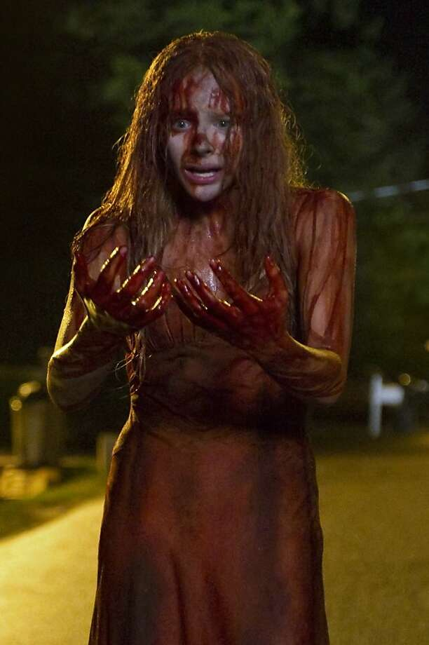 "Chloe Grace Moretz stars in this year's remake of ""Carrie."" Photo: SOny Pictures"