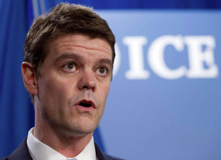 FILE - In this Jan. 3, 2013 file photo, U.S. Immigration and Customs Enforcement (ICE) Director John Morton speaks during a news conference  at ICE headquarters in Washington. The Obama administration reversed itself Thursday, acknowledging to Congress that it had, in fact, released more than 2,000 illegal immigrants from immigration jails due to budget constraints during three weeks in February. Four deemed especially dangerous have been placed back in jail.   ( AP Photo/Jose Luis Magana) Photo: Jose Luis Magana