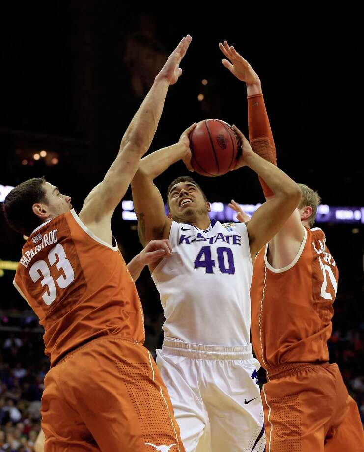 The Longhorns were no match for the Willdcats as K-State handled UT easily. Photo: Jamie Squire, Getty Images / 2013 Getty Images