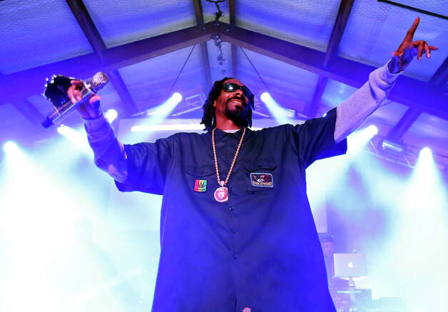Snoop Dogg, aka Snoop Lion, performs at Viceland during South by Southwest Thursday March 14, 2013 in Austin, TX. Photo: Edward A. Ornelas, San Antonio Express-News / © 2013 San Antonio Express-News