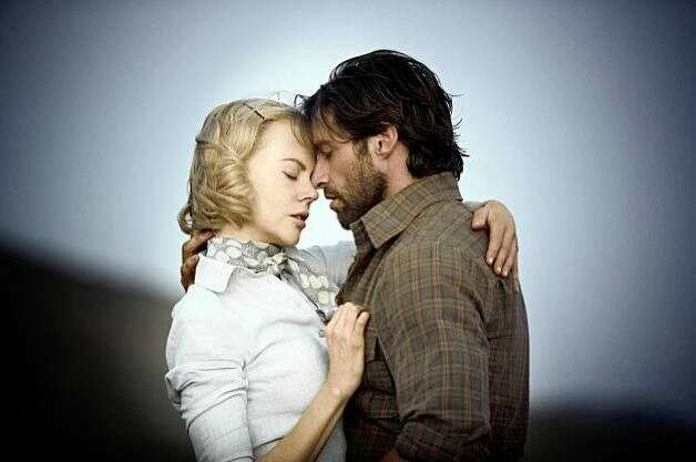 Nicole Kidman and Hugh Jackman in Australia.  They were hard to believe as a couple.