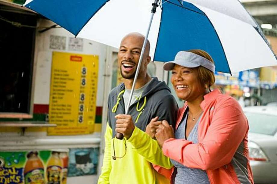 Another couple that was hard to believe -- Common and Queen Latifah in Just Wright.