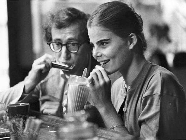 Manhattan -- another odd pairing, though, like Knocked Up, this one was supposed to be odd -- Woody Allen and a very young Mariel Hemingway. Photo: Weiss, Sabrina
