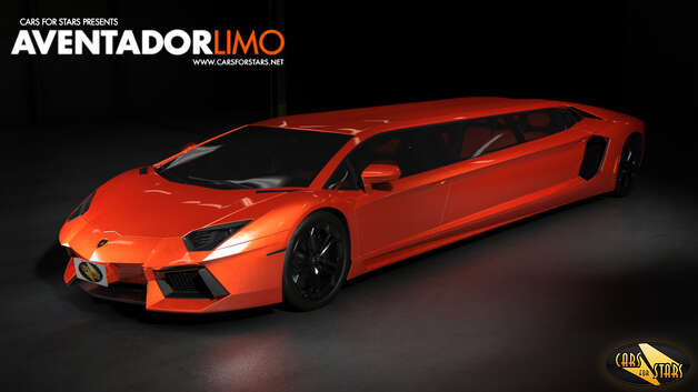 Lamborghini: A British company plans to stretch out a Lamborghini to make a new high-end limo. But who will actually rent it? Photo: Cars For Stars